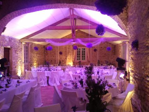 Salle du Chateau Vauban à Bazoches en Morvan Nièvre