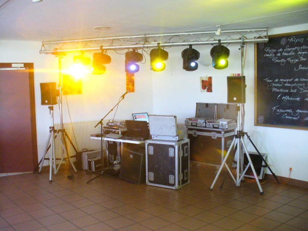 Animation DJ Salle de Restaurant Saône et Loire