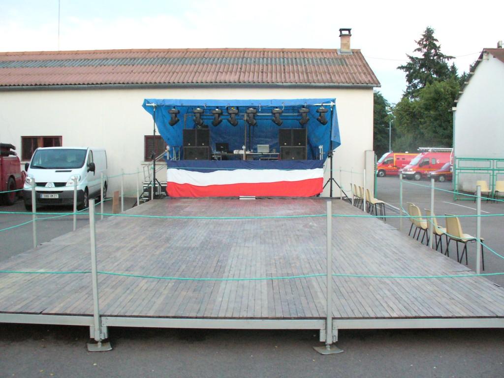 Parquet Bal des pompiers 13 Juillet à Arnay le Duc Animation MLA Dijon
