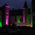 Eclairage du Chateau de Melin Cote d'or
