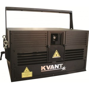 Laser RGBW 6w full color laser system Spectrum Kvant location éclairage
