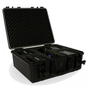 Pack de 4 canons à confettis électrique Power Shot MLA Dijon locatio effets spéciaux cote d'or