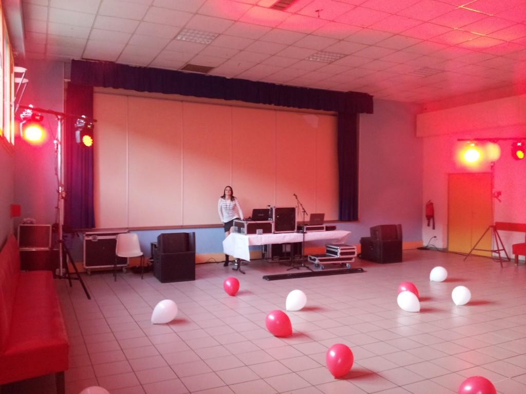 Animation DJ salle de Mâlain Cote d'or MLA DIJON