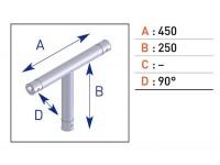 Angle mono tube ASD MLA DIJON
