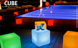 Cube Lumineux à Leds (RGB)