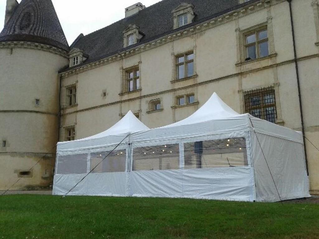 Location tentes pour réception MLA DIJON