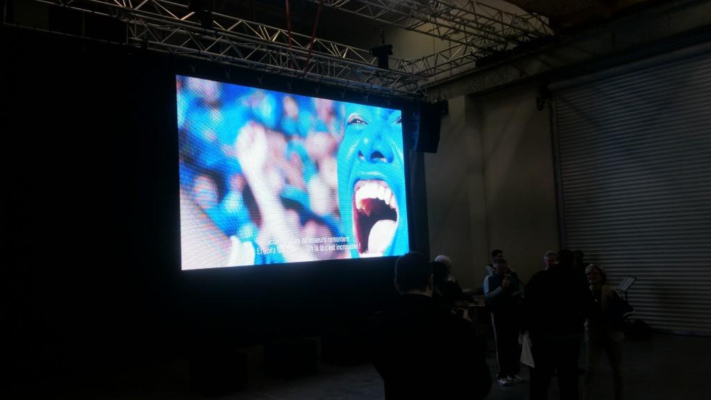 Finale de coupe du monde sur écran géant LED MLA DIJON