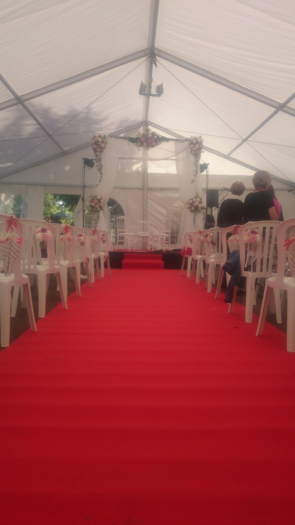 Mobiliers pour cérémonie et chapiteau MLA DIJON