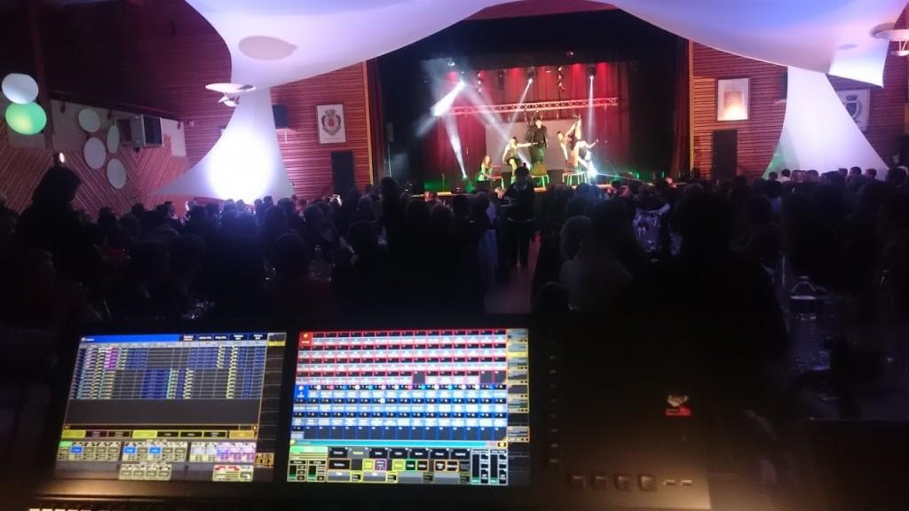 Prestation soirée d'entreprise, sonorisation éclairage (MLA DIJON)