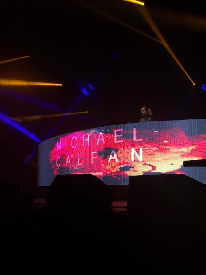 Ecran Led MLA Dijon Regie DJ (Michael Calfan)