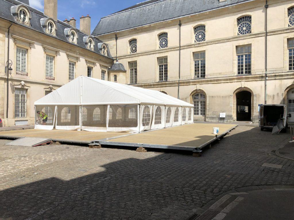Chapiteau Cour de Flore Dijon