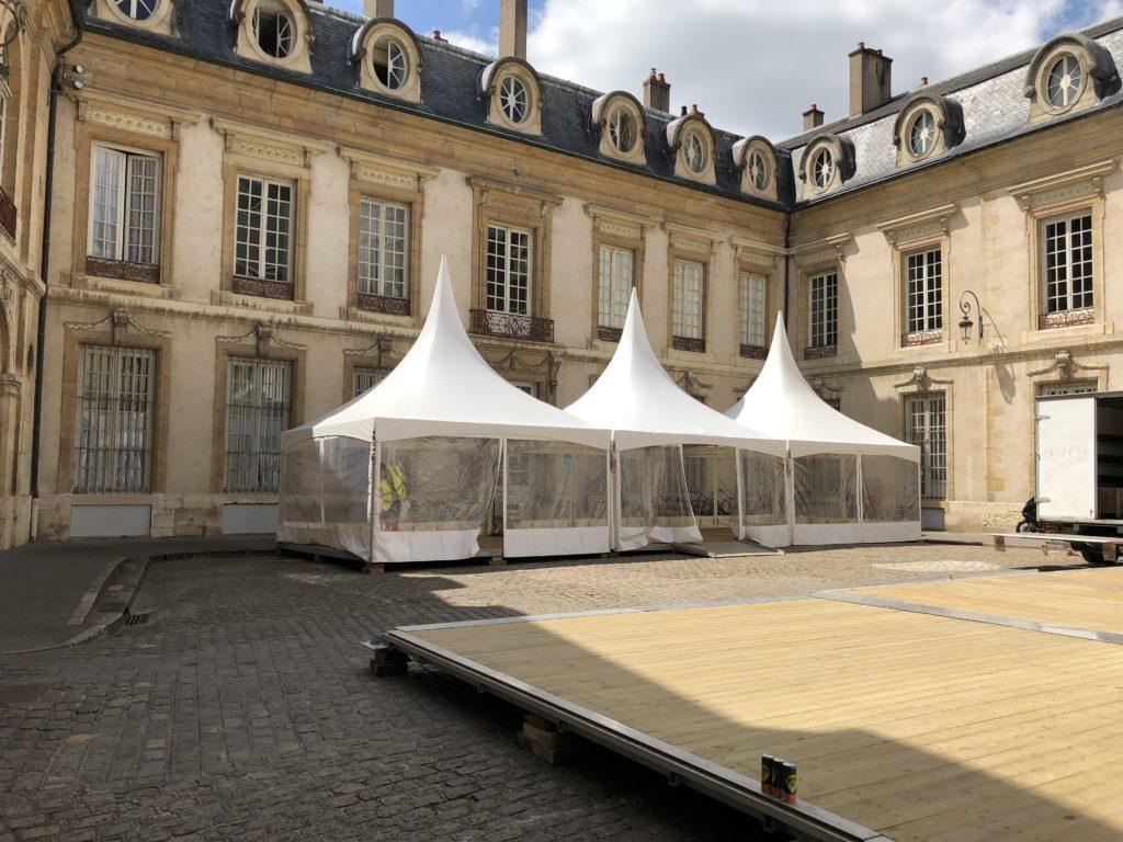 Pagode Cour de Flore Dijon