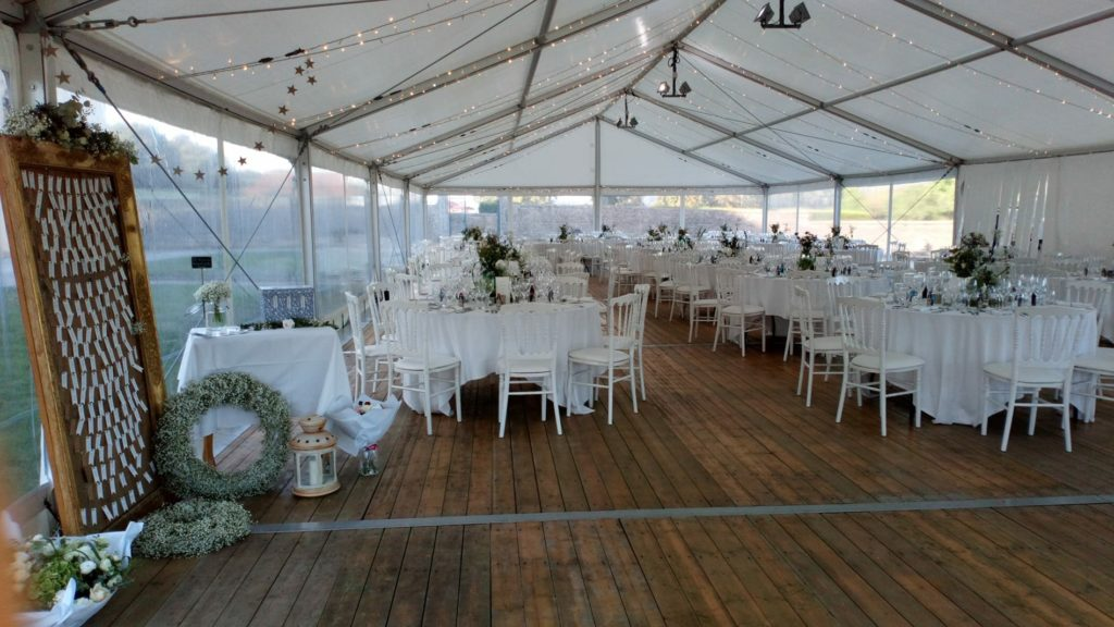 Réception mariage chapiteau 250M2 by MLA