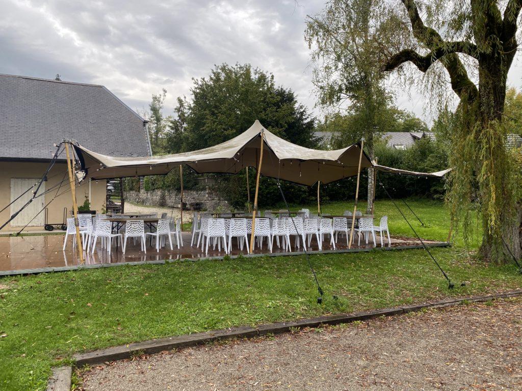 Location tente stretch UKOO 10,5m x 7,5m